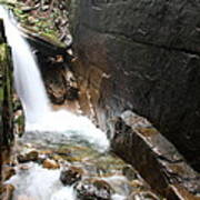 Waterfall Flume Gorge - Nh Poster