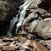 Waterfall In Colorado Poster