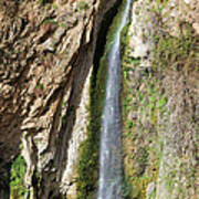 Waterfall In Ronda Poster