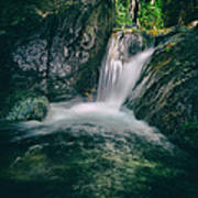 Waterfall Poster by Stelios Kleanthous