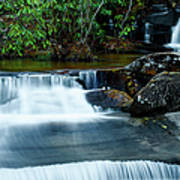 Waterfalls Of Carreck Creek Poster