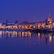 Waterford Skyline Along River Suir Poster