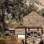 Watermill Two Poster