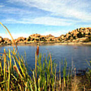 Watson Lake Arizona Poster