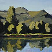 Watson Lake Poster by Mary Giacomini