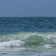 Wave At Seal Beach Poster