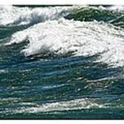 Waves Triptych Ll Poster