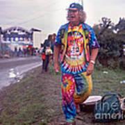 Wavy Gravy At Woodstock Poster by Chuck Spang