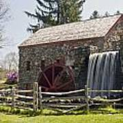 Wayside Grist Mill 5 Poster by Dennis Coates