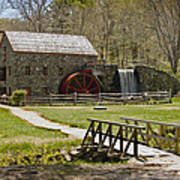 Wayside Grist Mill 8 Poster