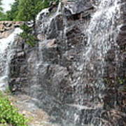 Wayside Waterfall - Acadia Np Poster