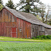 Weathered Barn 2 Poster