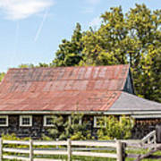 Weathered Barn Poster