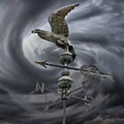 Weathervane Poster by Steven  Michael