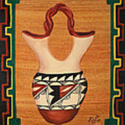 Wedding Vase Poster