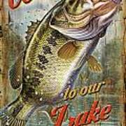 Welcome Bass Poster