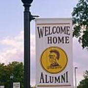 Welcome Home Banner Poster