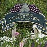 Welcome To Edgartown Poster