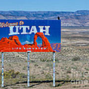 Welcome To Utah Poster