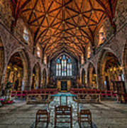 Welsh Cathedral  Poster