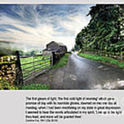 Wensleydale Road Poster by Mike Hoyle