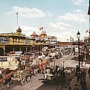 West Street New York 1901 Poster