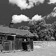 West Virginia Barn Poster