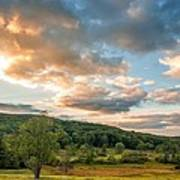 West Virginia Sunset Poster