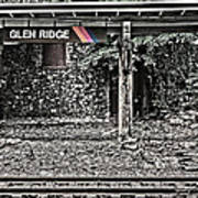 Westbound Track At Glen Ridge Station Poster