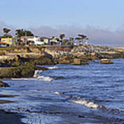 Westcliff Drive - Santa Cruz - California Poster