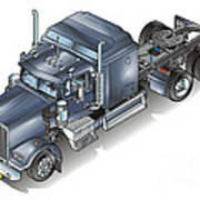 Western Star Tuck Poster