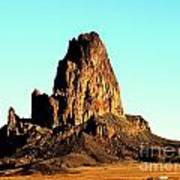 Western Usa Butte Poster