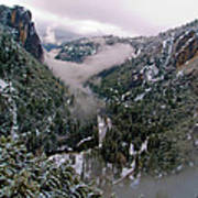 Western Yosemite Valley Poster by Bill Gallagher