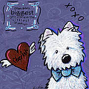 Westie Wall Poster