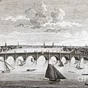 Westminster Bridge, London, Poster