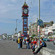Weymouth Esplanade Poster