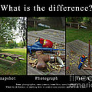 What Is The Difference Poster