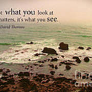 What You See Poster