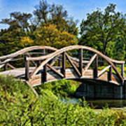 Wheaton Northside Park Bridge Poster