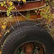 Wheels Of Autumn Poster