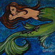 Whimsical Mermaid Poster