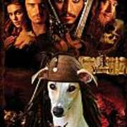 Whippet Art - Pirates Of The Caribbean The Curse Of The Black Pearl Movie Poster Poster