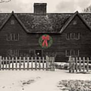Whipple House Christmas Poster