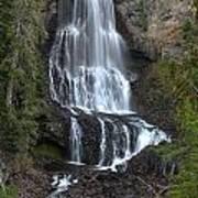 Whistler Waterfalls - Alexander Falls Poster