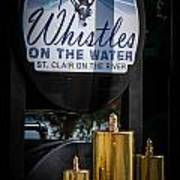 Whistles On The Water Poster