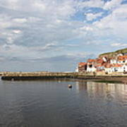 Whitby Abbey N.e Yorkshire Poster