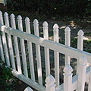 White Fence Provincetown Poster