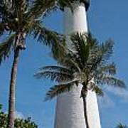 White Florida Lighthouse Poster