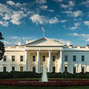 White House Sunrise Poster