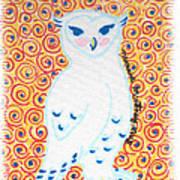 White Owl Poster